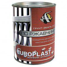 Грунт-эмаль по ржавчине  EUROCLASS  красно-коричневая 0.9 кг 44-495. страна ввоза РОССИЯ