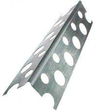 Угол алюминевый перф.2.5м