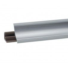 Плинтус для столешницы   металл матовый 3м