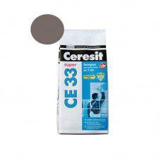 Ceresit CE 33  Композиция для заполнения швов.НВ (фуга. цвет  темно-серый 12). 2 кг