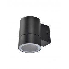 светильник накладной IP65 прозрачный Цилинд металл 1хGX53 черный 114х140х90