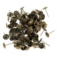 Гвозди обивочные 20 бронза (100шт) (арт. 2121-ZSI) (Китай)