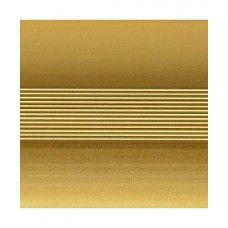 Кант полукруглый 40мм 1.8м, анод. золото, матовый