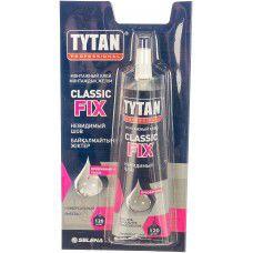 Клей монтажный TYTAN Professional Classic fix, 100 мл, прозрачный (арт. 00388) (Польша)