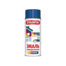 Краска-эмаль аэроз. универсальная STARFIX, синий (5010), 520 мл (арт. SM-99038-1)