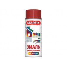Краска-эмаль аэроз. универсальная STARFIX, красный огонь (3000), 520 мл (арт. SM-97028-1)