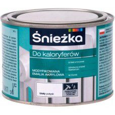 Краска SNIEZKA DO KALORYFEROW белая, 0.4 л, для радиаторов отопления