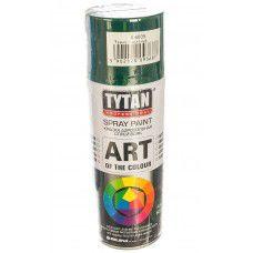 Краска аэрозольная Tytan Professional Art of the colour, темно-зеленая RAL6005, 400 мл (арт. 93687) (Китай)