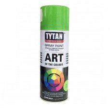 Краска аэрозольная Tytan Professional Art of the colour, светло-зеленая RAL6018, 400 мл (арт. 93700) (Китай)