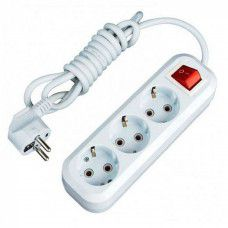 Установочные изделия Удлинитель ЭТП 77007 Удлинитель ЕТР 3 3м. 16А 3.6кВт с з к. выкл. и USB. ПВС 3x1.5
