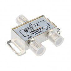 ДЕЛИТЕЛЬ  ТВ  х 2 под F разъём 5-1000 МГц  PROCONNECT