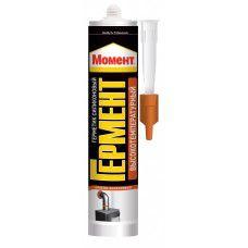 Момент Гермент герметик силиконовый Высокотемпературный красно-коричневый 300 мл 2640842