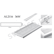 Светильник FERON AL2116 светильник 36W 1200х180х19мм