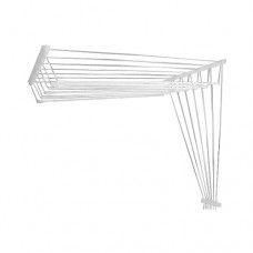 Сушилка для белья потолочная стальная 2,5 стержней, белая, PERFECTO LINEA,  (Беларусь)