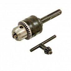 Патрон зажимной для дрели на ключ 13мм + адаптер SDS+
