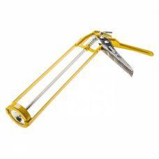 Пистолет для герметиков рамочный (скелетный). желтый Topex