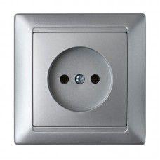 Розетка РС 16-305 серебро