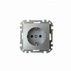 Розетка РС16-525 серебро