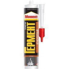 Момент Гермент герметик Огнеупорный черный 300 мл 2260937