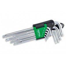 Ключи шестигранные TORX 9 шт.