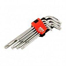 Ключи TORX длинные набор 9 шт