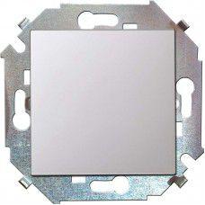 Установочные изделия Симон 15 серия 1591101-030 Выключатель одноклавишный. 16А. 250В. винтовой зажим. белый
