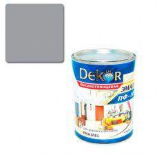Эмаль ПФ-115 DEKOR 0.4 кг (серая)