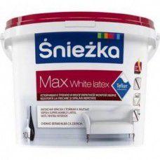 Краска SNIEZKA MAX White Latex белая 1л