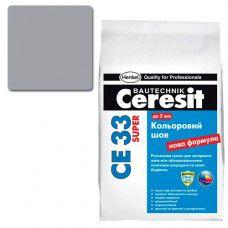 Фуга Ceresit СЕ-33 Super 5кг (антрацит №13)