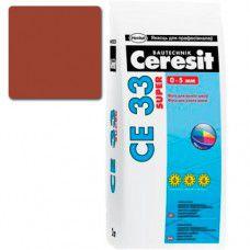 Фуга Ceresit СЕ-33 Super 2кг (кирпич №49)