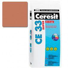 Фуга Ceresit СЕ-33 Super 2кг (какао №52)