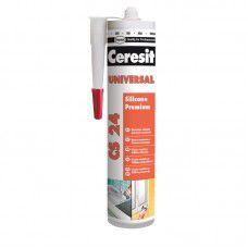 Ceresit CS 24 Силиконовый герметик универсальный. белый. 280мл 2005217