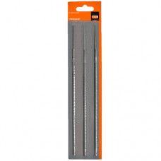 Напильник для заточки ножовок 4.0мм (набор 3шт.)