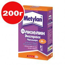 Клей обойный Metylan Флизелин Экспресс Премиум 200г