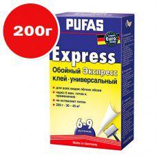 Клей обойный PUFAS Экспресс EURO 3000 200г