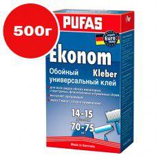 Клей обойный PUFAS Эконом универсальный EURO 3000 500г
