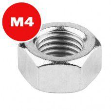 Гайка шестигранная М4 DIN 934 (цинк)