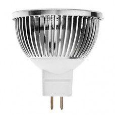 Лампа светодиодная 5W  G5.3  400LM 12V  MR16-COB
