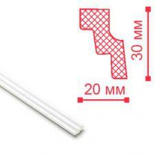 Плинтус потолочный  2м МС Н30мм W20мм