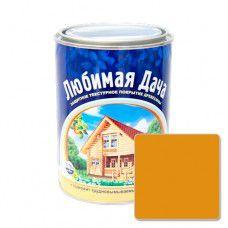Защитно-декоративное покрытие для древесины Любимая Дача (0.75л) - калужница
