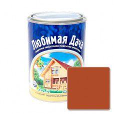 Защитно-декоративное покрытие для древесины Любимая Дача (0.75л) - махагон
