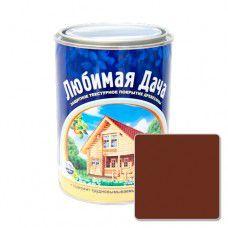 Защитно-декоративное покрытие для древесины Любимая Дача (0.75л) - палисандр
