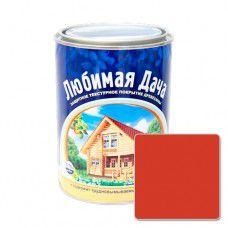 Защитно-декоративное покрытие для древесины Любимая Дача (0.75л) - рябина
