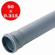 Труба ПВХ 50мм 0.315м АК