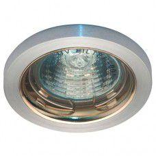 Светильник потолочный MR16 G5.3 алюминий