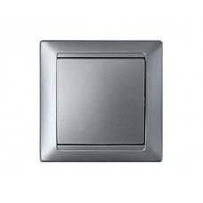 Выключатель С1 10-801 серебро