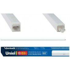 ULI-E01-7W NW K WHITE Светильник линейный светодиодный (аналог T5)   c выключателем. Белый свет (4000K). 600Лм. Корпус белый. ТМ UNIEL.
