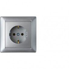 Розетка РС16-306 серебро